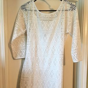 White lace Express dress